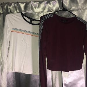 Forever21 Long Sleeve Shirts